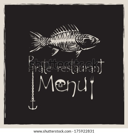 Bone fish stock images royalty free images vectors for Fish and bone restaurant