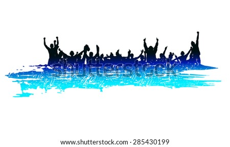 Banner for sporting events and concert - stock vector