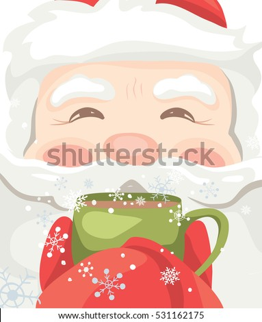 Santa Drinking Stock Photos, Royalty-Free Images & Vectors ...