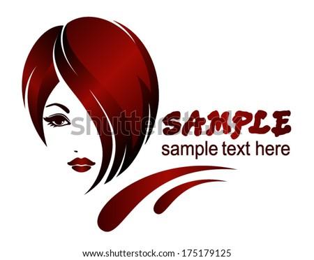 Banner template for beauty salon, hair styles, etc. - stock vector