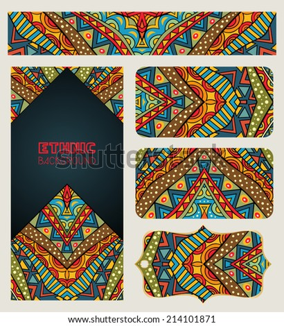 Hipster Design Tribal Branding Design With Tribal