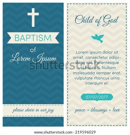 Christening Card Images RoyaltyFree Images Vectors – Christening Card Invitations