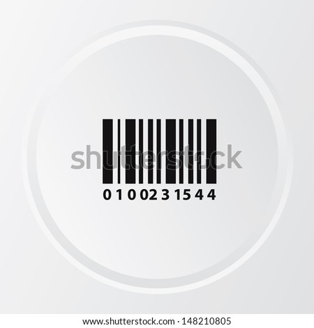 Bar code symbol,vector - stock vector