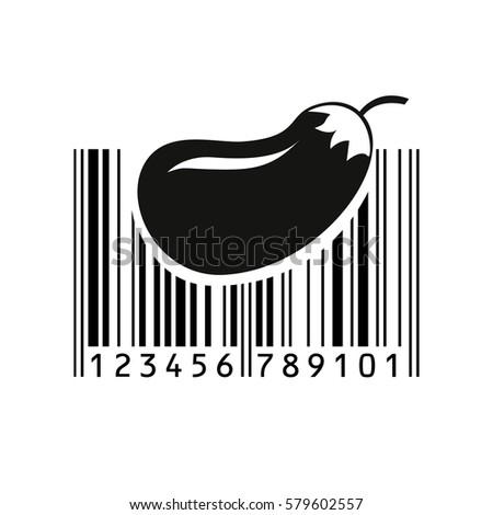 bar code vector illustration eps 10 stock vector 579602557