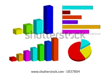 Bar graph and pie chart (diagrams)