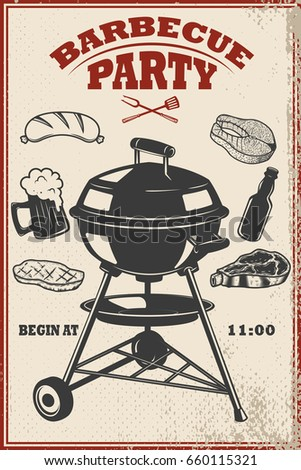 barbeque flyer templates