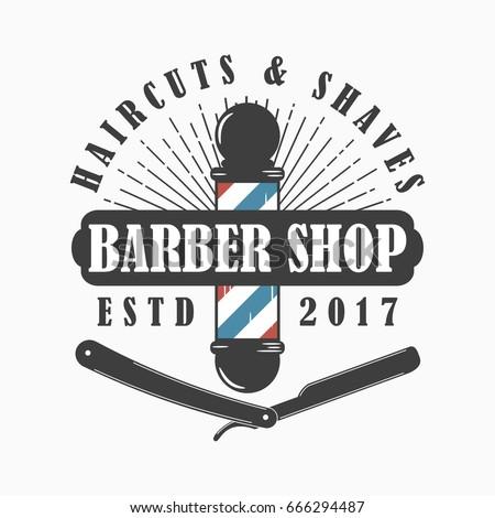 barber logo design razor wwwpixsharkcom images