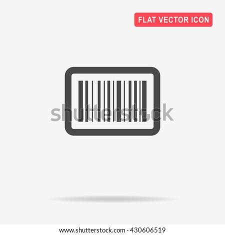 Barcode icon.   - stock vector