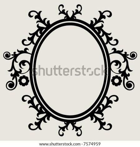 Baroque Frame Stock Vector (Royalty Free) 7574959 - Shutterstock