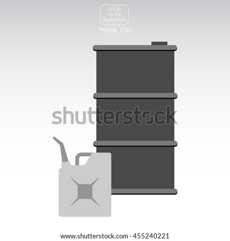 Barrel oil Icon. - stock vector