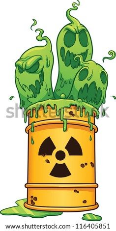 Toxic waste stock photos images pictures shutterstock for Simple art from waste