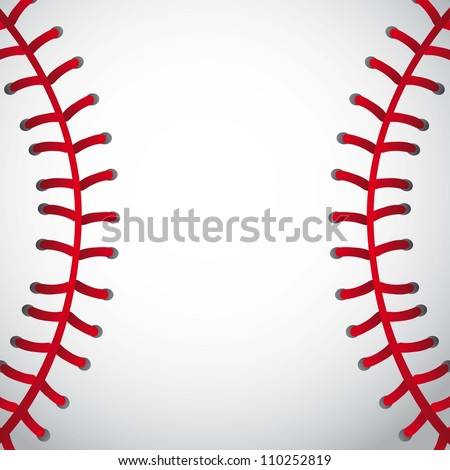 baseball ball texture background. vector illustration - stock vector