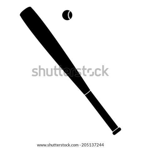 vector baseball bats