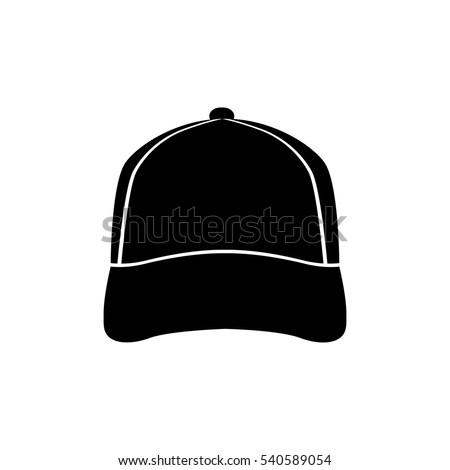 baseball cap icon vector illutration stock vector 2018 540589054 rh shutterstock com baseball hat vector image baseball hat vector template