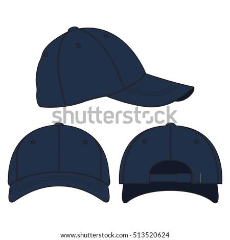 baseball cap vector template stock vector royalty free 513520624 rh shutterstock com baseball cap vector side baseball cap vector side