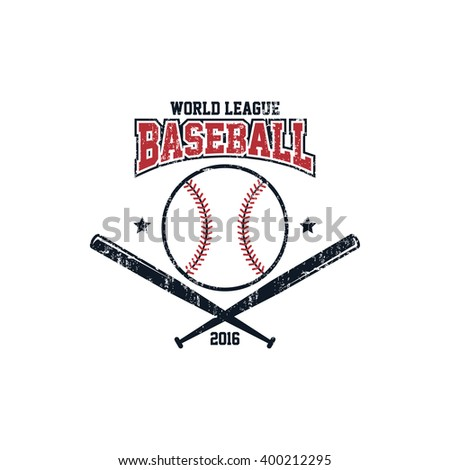 baseball league sport - stock vector
