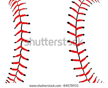 baseball seams close detail vector illustration stock vector hd rh shutterstock com Straight Baseball Seams Clip Art Baseball Seams Wallpaper