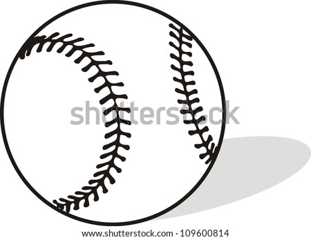 baseball sports vector illustration stock vector 109600814 rh shutterstock com vector baseball bat vector baseball field