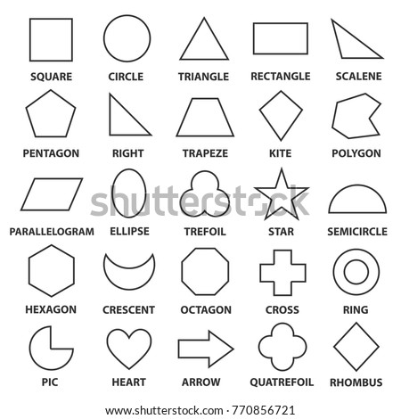 basic geometric shapes advance mathematical concepts stock vector 770856721 shutterstock. Black Bedroom Furniture Sets. Home Design Ideas