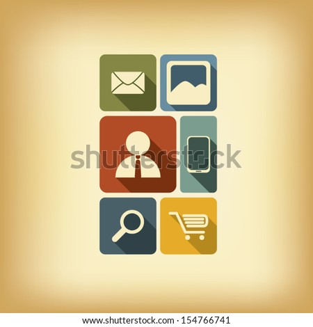 mjgraphicss quoticons and layoutsquot set on shutterstock