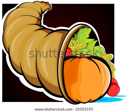 basket of vegetables - stock vector