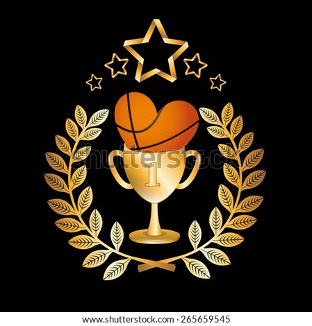 basketball championship design, vector illustration eps10 graphic