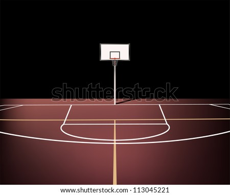 Basketball Court Stock Images, Royalty-Free Images & Vectors ...