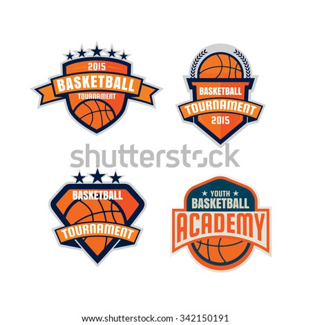 modern professional logo basketball game events stock vector 342574778 shutterstock. Black Bedroom Furniture Sets. Home Design Ideas