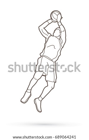 speech outline for shooting a basketball Basketball is a ball game and team sport in which two teams of five players try to score points by throwing or shooting a ball through the top of a basketball hoop while following a set of rules.