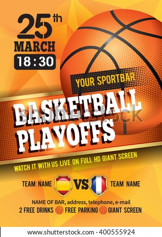 Basketball Poster Basketball Ball Basketball Playoff Stock ... Outdoor Basketball Court Background