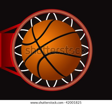 Basketball Score - stock vector