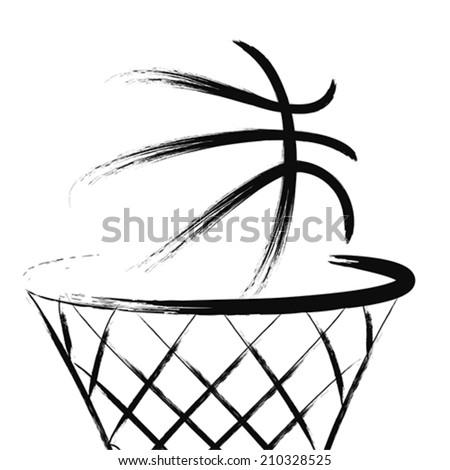 Basketball Net Logo Basketball Net Stock I...