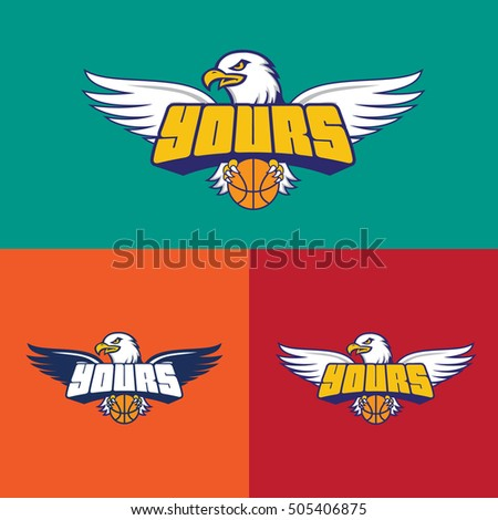 Basketball Team with color logo
