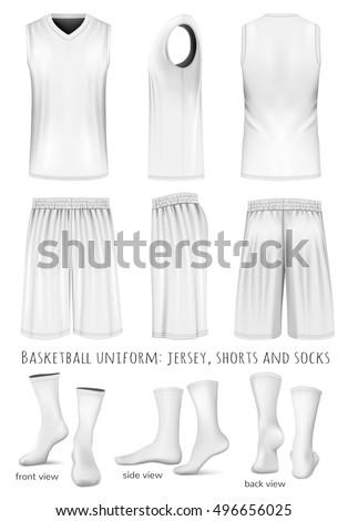 Vektornaya Illyustraciya V Rejtinge M Rank Basketball Uniform