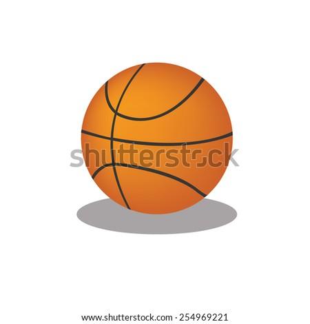 Basketball vector - stock vector