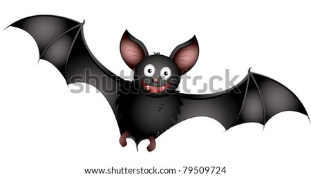 bat - stock vector