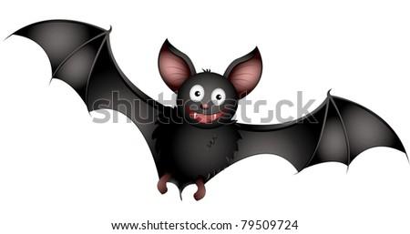 bat - stock vector