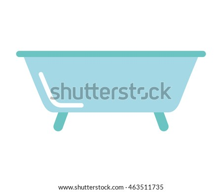 bath tub clean icon vector illustration design