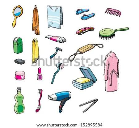 Perfect Bathroom Items Set