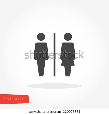 Bathroom Sign Male Vector stock images similar to id 117027103 - restroom symbol male and