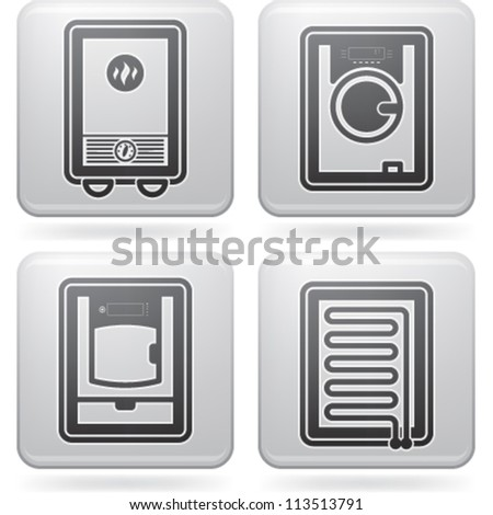 856 Gas Heater Stock Illustrations Cliparts And Royalty