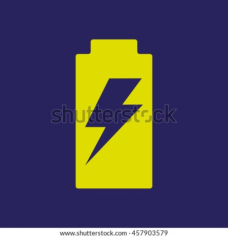 Battery Charge Icon - stock vector
