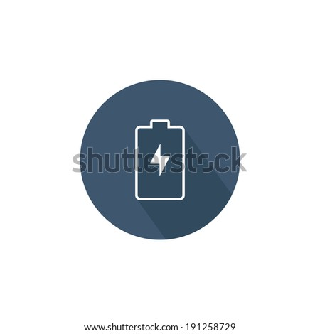 Battery charge indicator icon. Vector illustration  - stock vector