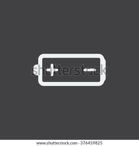 battery Icon, battery Icon Vector, battery Icon JPG, battery Icon JPEG, battery Icon EPS, battery Icon design - stock vector