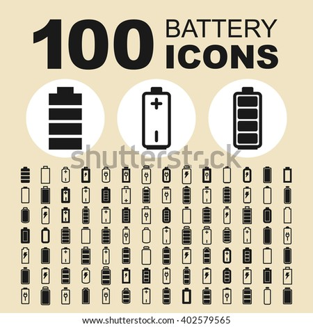 Battery icon. Battery sign. Battery pictogram. Battery vector. Battery graphic. Battery symbol. Battery design. Battery image. Battery illustration. Battery art. Battery picture. Battery object. - stock vector