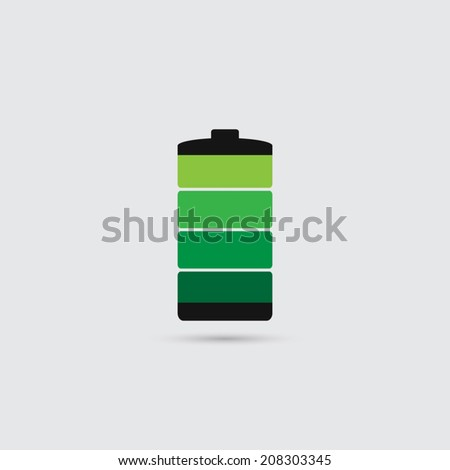 Battery icon - Vector