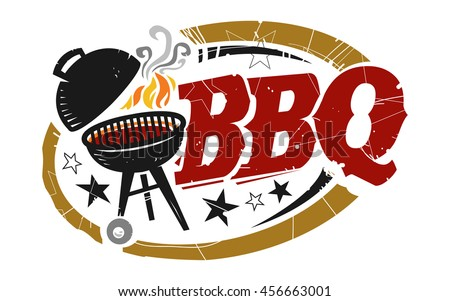 Bbq Grill Vector Icon Stock Vector Royalty Free