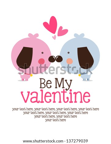 Be My Valentine - stock vector