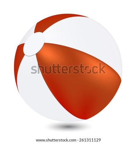 Beach Ball - stock vector