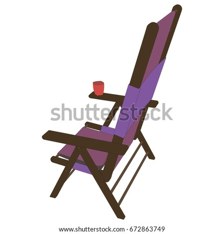 Beach Chair Vector lounge chairs beach people stock vectors, images & vector art